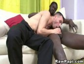 Horny black men and wild latino gays enjoying their barebacking action. Watch and be aroused with their steamy gay lovemaking scene with nasty cumshots in the end.
