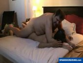 Horny hung bear fucking a married guy