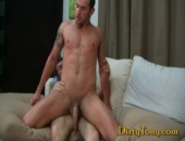 I am a fan of first times. First baseball games, first kiss, first gay blowjob, and any first that has to do with a guys ass on camera. Triston is...