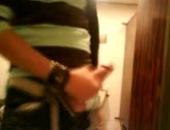 Wanking In A Restroom
