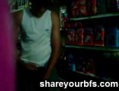 Amateur 23yo brazilian boys jerking off hidden in a shop