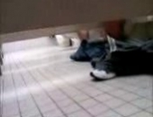 cam wank in the toilets
