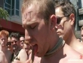 Cody Allen, beaten, fucked, and humiliated during a street fair.