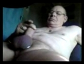 amateur old man masturbates