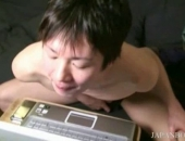japanese twink finger play