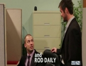 Rod Daily dishes to Mike De Marko that hes been having really hot IM conversations with a girl he found online. Funny thing, Mike met someone really dirty the same way. At a convenient moment when the rest of the office is out for lunch it is discovered theyve really been talking to each other and decide to have a hot fuck and suck right there!