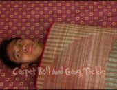 Our big dick Asian tickle boy Kris finds himself in a very ticklish situation. His tickle buddies rolled him up in a carpet so that Ricky could tickle his sexy Asian boy feet! After Ricky had his fun, they tied him to the bed and the gang all tickled him senseless! Hot gay tickle video!
