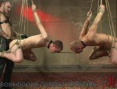 bondage bound bdsm gaybdsm gaybondage gay blowjob anal assfucking leather ass-fucking analfucking buttsex