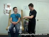 Straight Boy Gets sucked By Doctor.